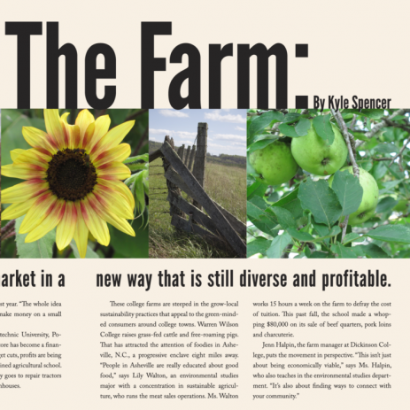 Farm Magazine Spread
