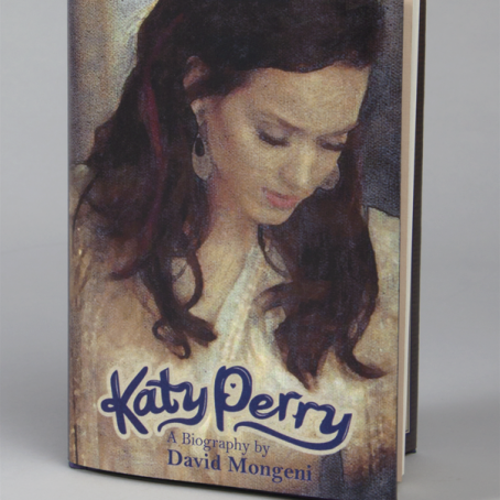 Katy Perry Bookjacket