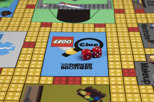 Lego Clue Gameboard