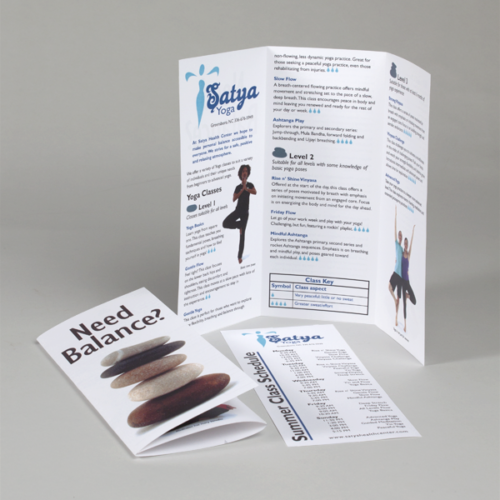 Satya Yoga Brochure